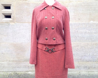 Vintage 1960s skirt suit
