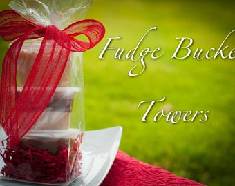 Fudge Bucket Towers - Nine Flavors to Choose From