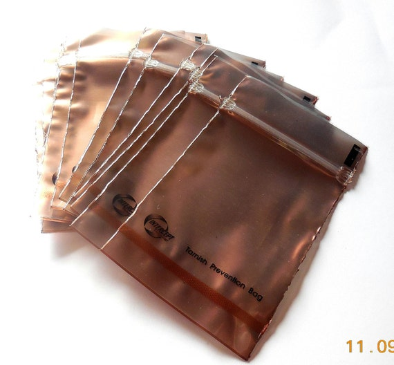 One anti tarnish bag for jewelry add on to by for Anti tarnish jewelry bags