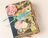 KIT - Handmade Scrapbook Album Kit - Tropical Travelogue