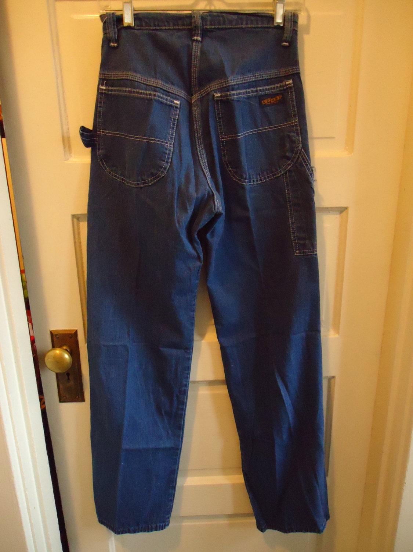 Painters Pants Vintage Denim Painter Pants Size