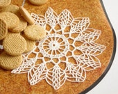 Crochet doily Small doily Lace doilie Small crochet doilies Crocheted doilies lace Home decor