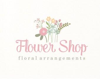 flower logo floral premade logo - Logo Design #111