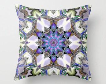 Far Out Kaleidoscope Photo Throw Pillow, Photo Pillow, Throw Pillow, Kaleidoscope, Digital Art