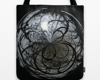 Mysterious, Orb, Tote Bag, Photography, School Bag, Teacher Gift, Everyday Bag, Unique Gift, Travel Bag, Totes, Gift Ideas, Unique Gift