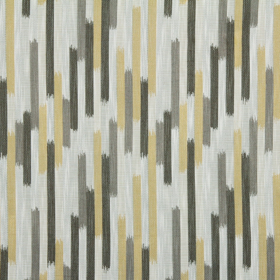 grey yellow woven ikat upholstery fabric charcoal grey. Black Bedroom Furniture Sets. Home Design Ideas
