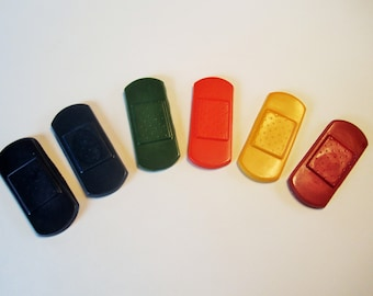 Band aid crayons, party favors, doctor party, doctor goody bags