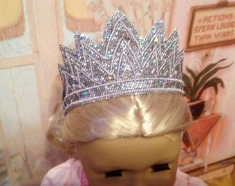 Embroidered Crown for 18 inch Doll/American Girl Doll