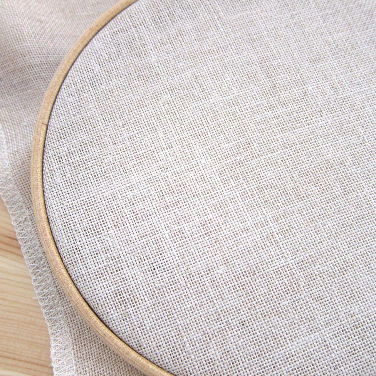 Cross stitch fabric count linen cashel in rustic