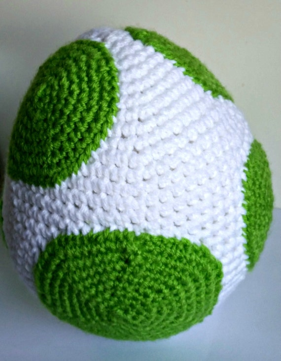Amigurumi Yoshi Patron Gratuit : Yoshi Egg Amigurumi Crochet Pattern PDF/ by CavazyAndAdoraboo