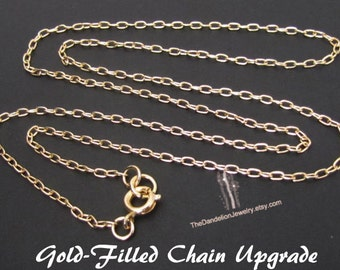 GOLD-FILLED Chain Upgrade