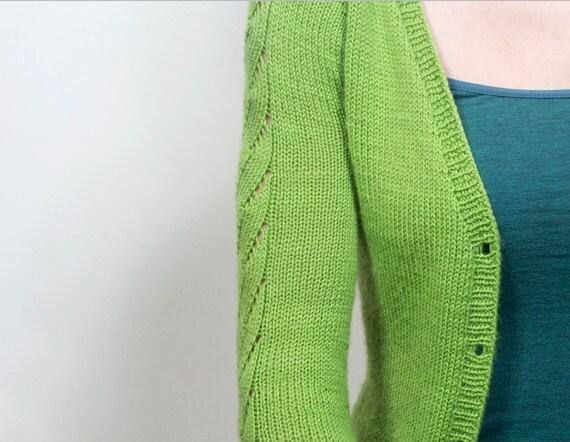 Ladies Raglan Jumper Knitting Pattern : PDF Knitting Pattern - Primavera Cardigan, Sweater Knitting Pattern, Ladies C...