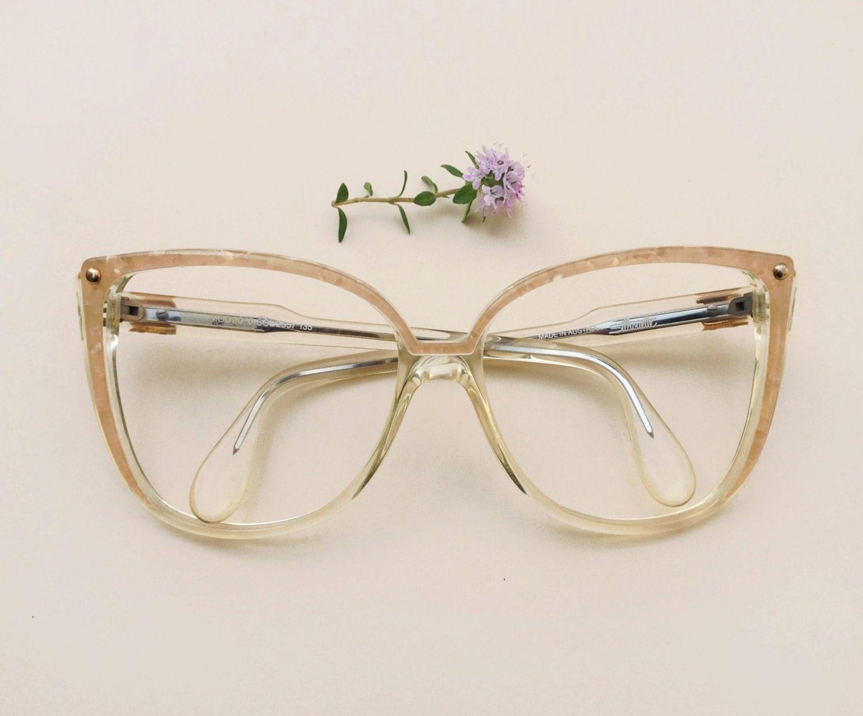 Silhouette Vintage eyeglasses / 80s NOS oversized designer