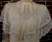 1970s GORGEOUS Victorian-inspired Gunne Sax dress sz M