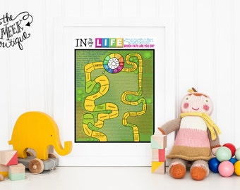 INSTANT DOWNLOAD, Game of Life Printable, No. 120