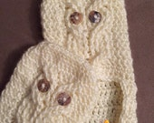 Owl Cable Slippers Adult