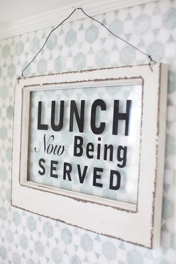 Out to Lunch Sign Vintage Lunch Sign 50 39 s