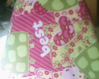 best friends tyed fleece baby blanket