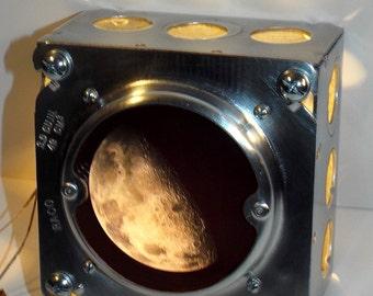 Night Light Streamlined Earth's Moon Industrial Lighting