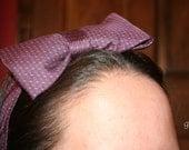"""Oscar De La Renta Bow """"Tie"""" Headband"""