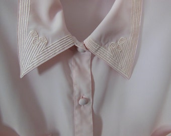 SALE!! 90s Pink Blouse