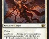 Angelic Field Marshal, Limited edition MTG Artist proof, By Scott Murphy