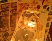 Destash Zoo Stickers