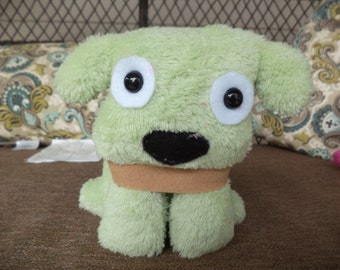 Mini Puppy Plush Green