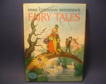 Hans Christian Andersen's Fairy Tales 1972 by Eve Morel, A Grosset Grow Up Book