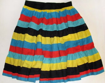 Vintage Fiesta Fun Dancing Skirt