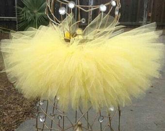 Baby Yellow Tutu Skirt