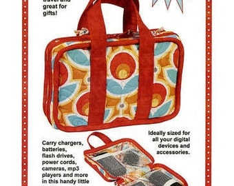Tech Tote by Patterns by Annie PBA193 Power Code Carrying Case Pattern