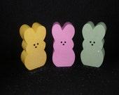 Glittered Easter Peeps Bunny