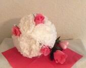 Wedding...Rehearsal...Bouquet...Paper...Flowers