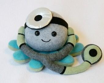 Doctor octopus plush stuffed animal