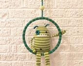 Handmade Knit Swing Monster