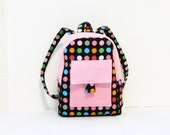 18-inch doll backpack, doll bag- Monkey Do