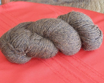 Free Shipping Shades of Light and Dark Brown Combination 100% Pure Alpaca Skeins