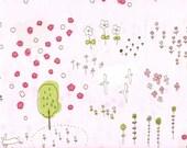 Hananonaka Color 3 (pink) by Megumi Sakakibara for Yuwa of Japan