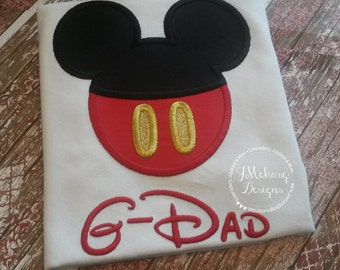 Boy Mouse Custom embroidered Disney Inspired Vacation Shirts for the Family! 781