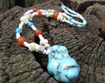 Native American Inspired Statement Necklace