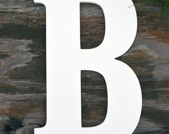 """24"""" Large Wooden Letter - Unfinished Ready to paint - Door Hangers- Home Decor- Wall Art"""