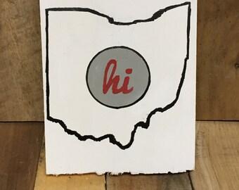 Hi Ohio Sign