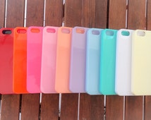 Sweet Diy Deco Den Kawaii Pastel Colors Shiny Hard Plastic iphone 5/5s Cases Cover Cute Decorate Bling Fashion Mobile Phone