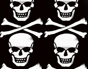Skull & Crossbones Stencil, nursery kids room décor, pirate stencil, painting stencils, wall stencil, decorating stencil, nautical,