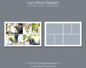 6 x 4 Photo Collage Template - 4