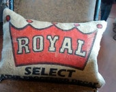 Royal Coffe Bag Pillow