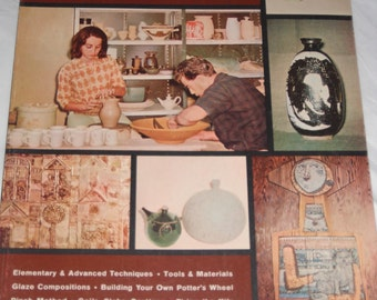 Vintage pottery making book