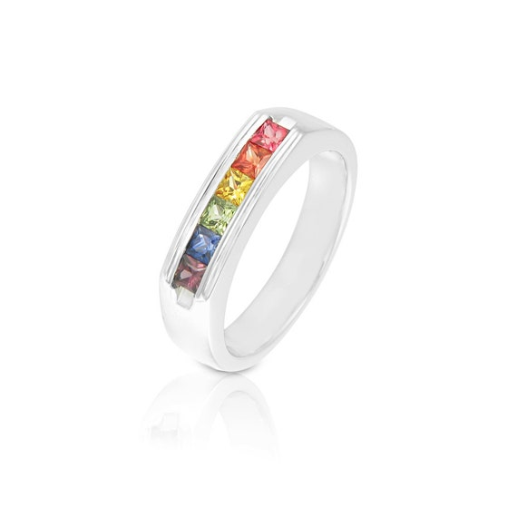 rainbow ring lgbt pride miniature - photo #25