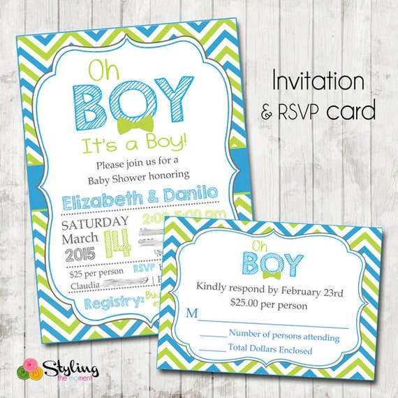 baby shower rsvp to me